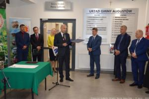 Otwarcie budynku Urzędu Gminy Augustów wdniu 29 maja 2019 roku