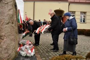 Obchody 76 rocznicy wywózki mieszkańców Netty na Sybir w Szkole Podstawowej im. Sybiraków w Netcie w dn. 9 lutego 2016 r.